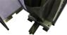 Förderband das die geschlagenen Kerbschlagbiegeproben abtransportiert