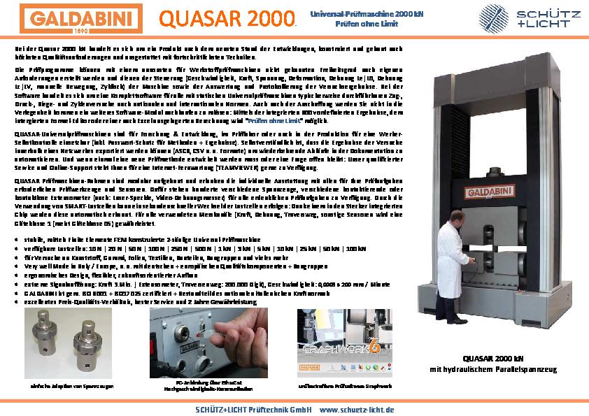 PDF QUASAR 2000 kN
