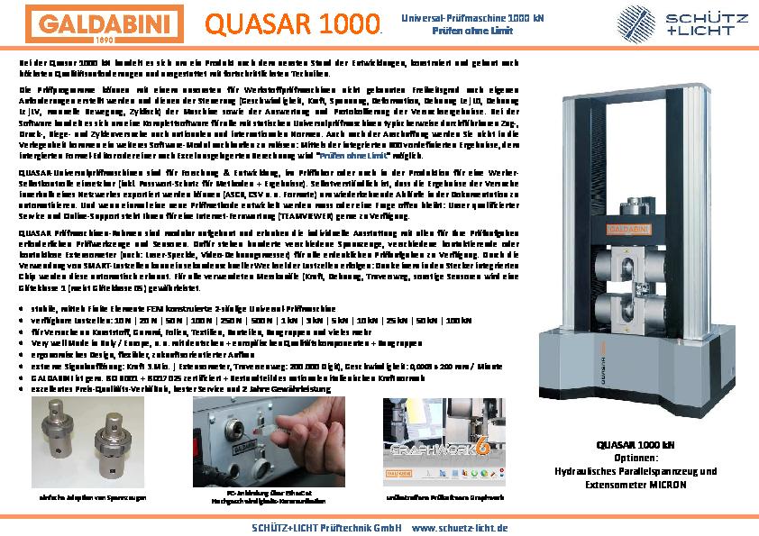 PDF QUASAR 1000 kN