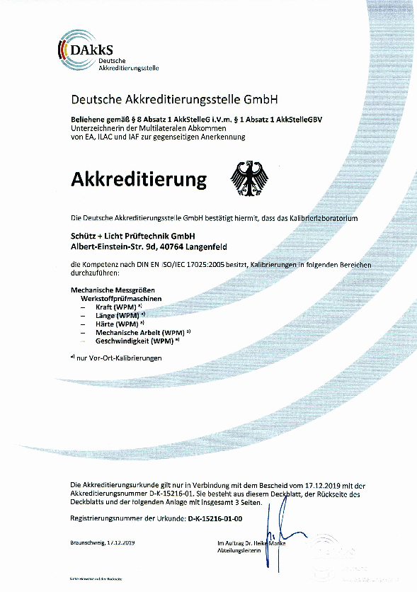 Download Akkreditierungsurkunde