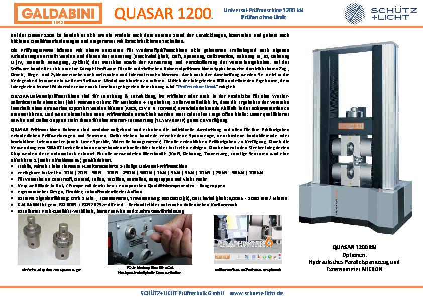 PDF QUASAR 1200 kN