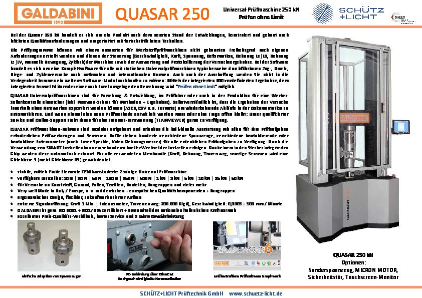 PDF QUASAR 250
