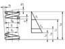 Schematische Zeichnung für Federprüfung